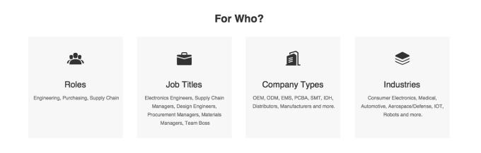 Electronic Components Platform