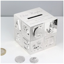 2. PersonalisedABC Money Box