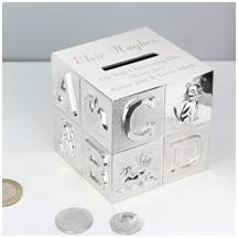 2. PersonalisedABC Money Box