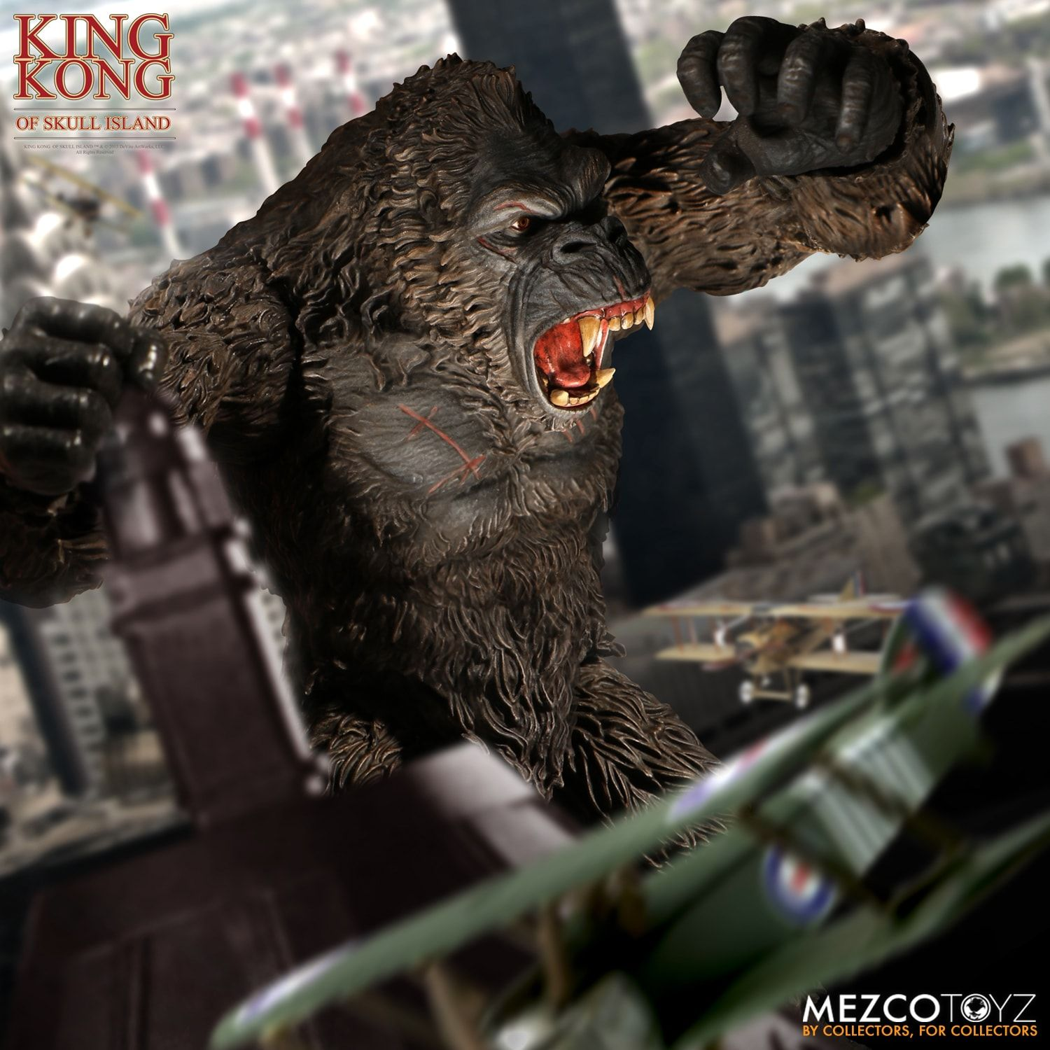 Mezco-Ultimate-Kong-4