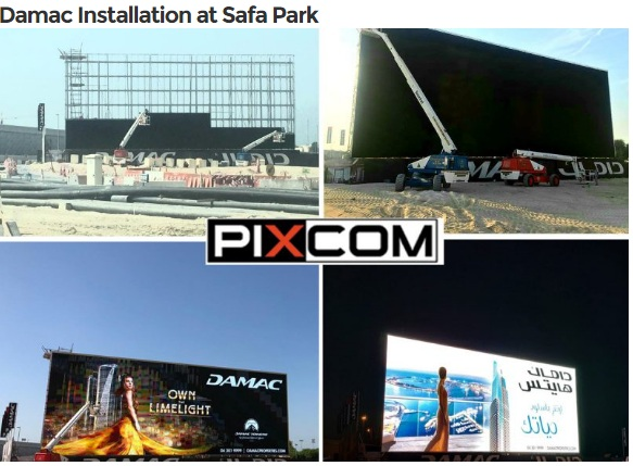Damac Installation at Safa Park