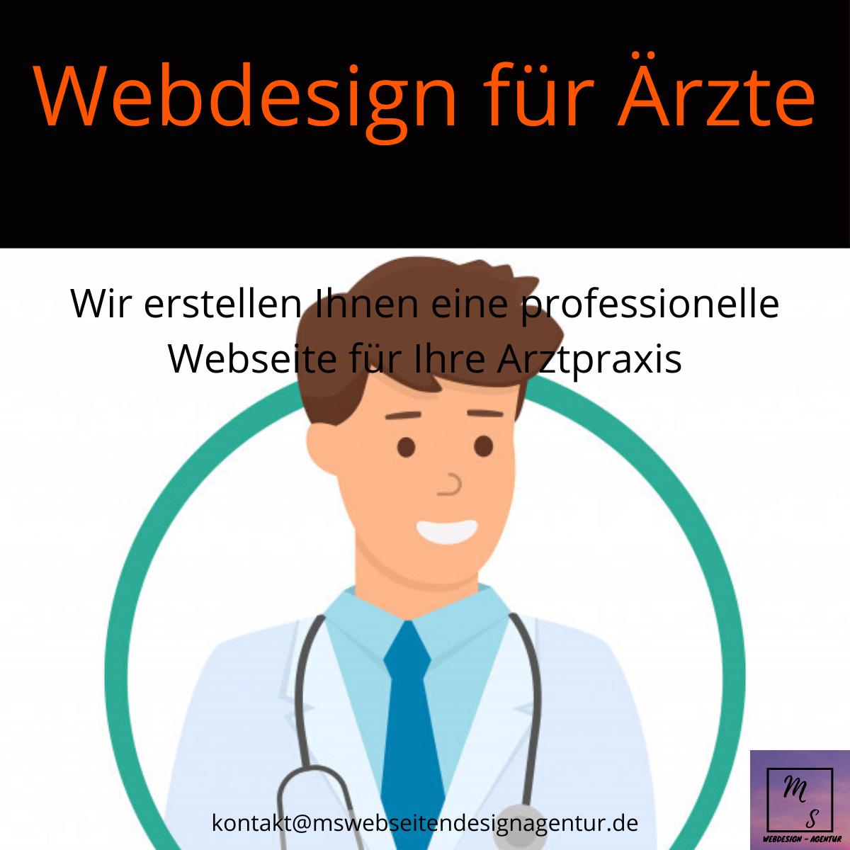 MsWebdesignAgentur Mannheim, Webdesign für Ärzte