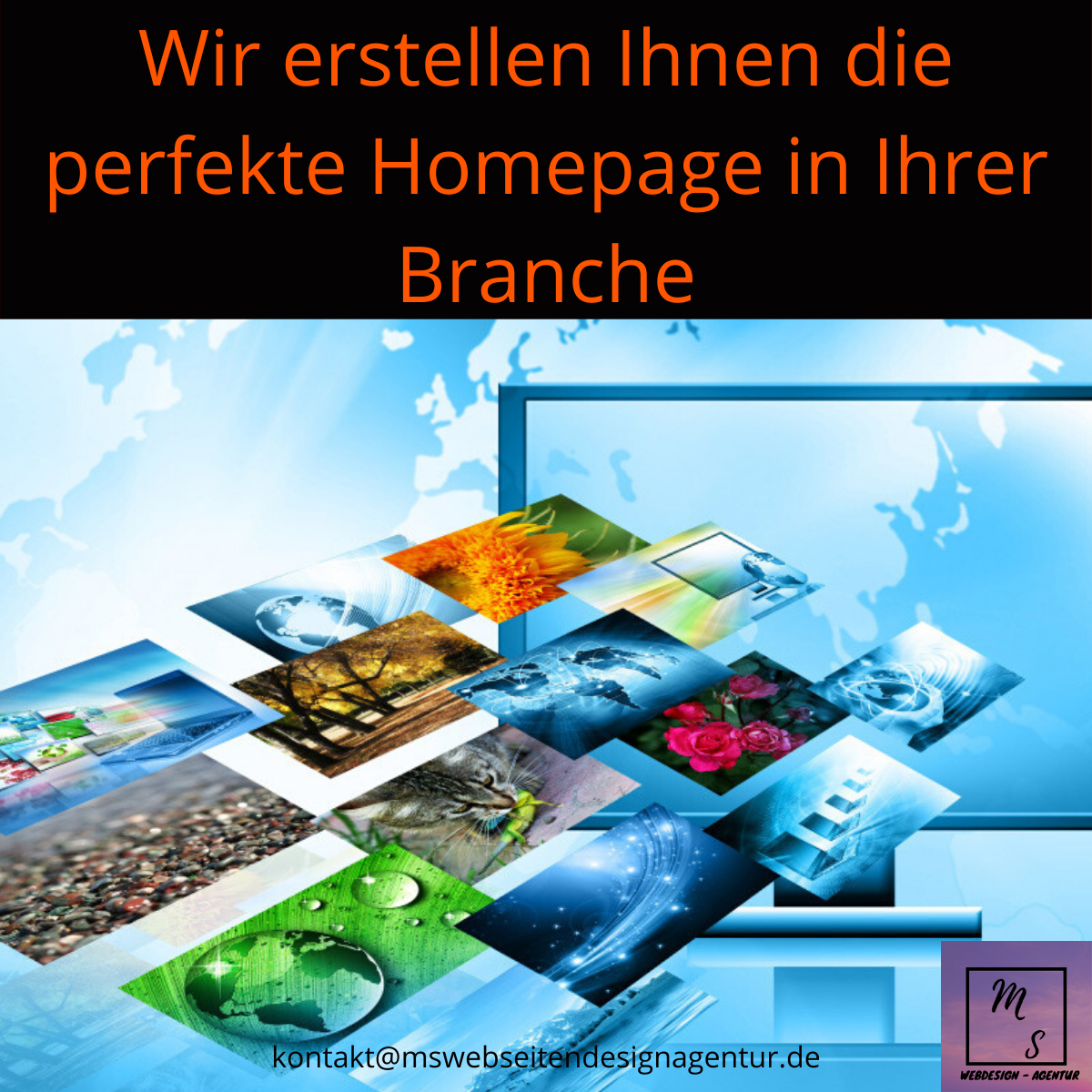 MS WebdesignAgentur, Homepage erstellen lassen