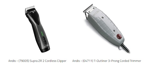 Andis Clipper and Trimmer